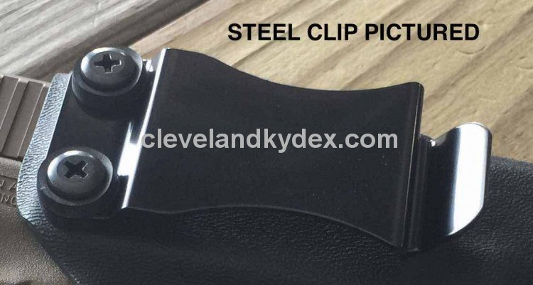 "CKC CLIP System - STEEL Mounting Clip - Black - 1.5"" - Click Image to Close"