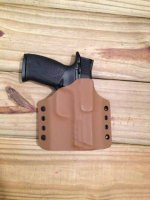 Quick Ship Custom Holster - OWB High Guard