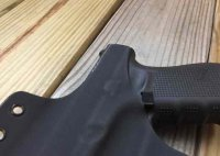 Quick Ship Custom Holster - OWB Contour High Guard