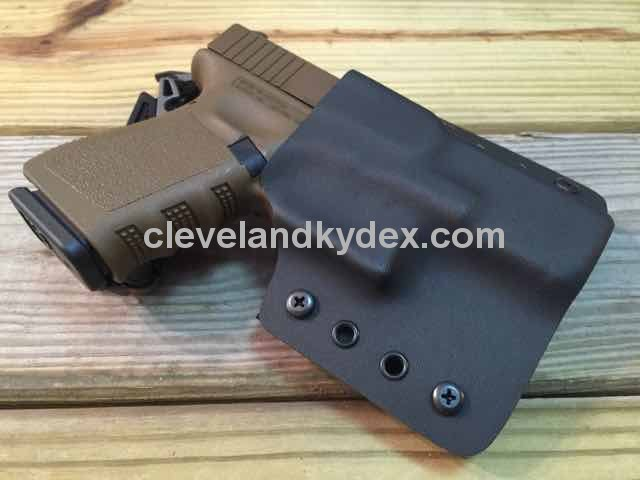 Quick Ship Custom Holster - OWB Contour High Guard - Click Image to Close