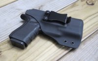 Custom Light Bearing Holster - CLIP IWB Full Guard