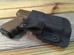 Custom Light Bearing Holster - IWB High Guard