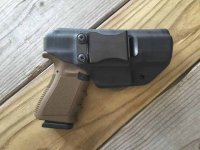 Quick Ship Custom Holster - CLIP IWB Full Guard
