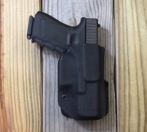 Quick Ship Custom Holster - Paddle Holster OWB