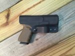 Quick Ship Custom Holster - IWB Full Guard