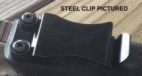 CKC CLIP System - POLYMER Mounting Clip (And Hardware) - Black