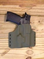 Custom Light Bearing Holster - OWB