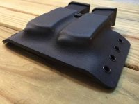 Traditional Dual Pistol Magazine Carrier