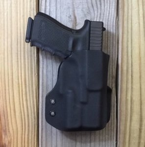 Custom Light Bearing Holster - Paddle Holster OWB