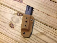 Universal Single Pistol Magazine Carrier