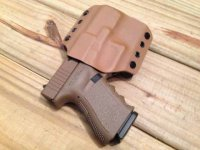 Quick Ship Custom Holster - OWB High Speed