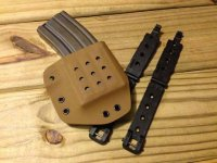 Universal Single Rifle Magazine Carrier