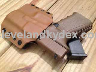 Quick Ship Custom Holster - OWB High Speed - Click Image to Close
