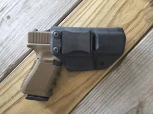 Quick Ship Custom Holster - CLIP IWB High Guard
