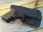 Custom Light Bearing Holster - IWB Full Guard