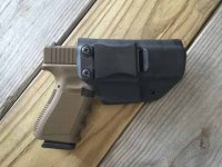 Quick Ship Custom Holster - CLIP IWB