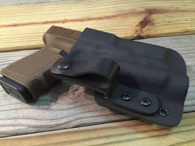 Custom Light Bearing Holster - IWB - Click Image to Close