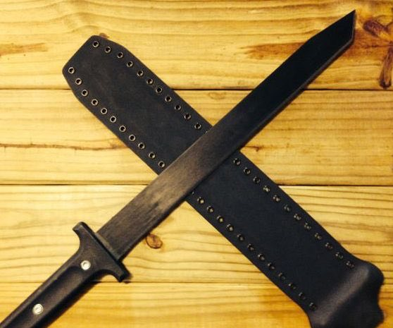 "Cold Steel Two Handed Katana Machete Sheath - 19"" version only"