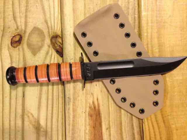 Ka-Bar USMC Full Size Fighting Knife Sheath