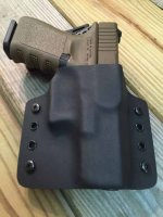 Quick Ship Custom Holster - OWB Contour