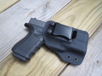 Custom Light Bearing Holster - CLIP IWB High Guard