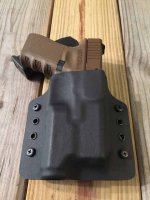 Custom Light Bearing Holster - OWB Contour