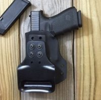 Custom Light Bearing Holster - Paddle Holster OWB Custom