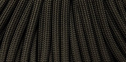 Paracord - US Made 550 Cord - Black